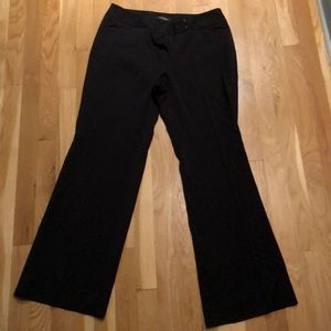 Black pants perfect for the office